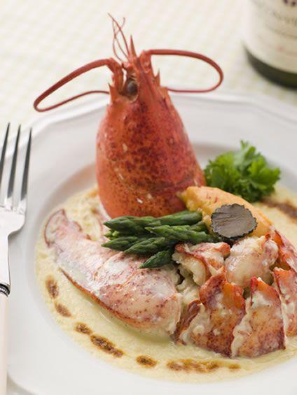 Exquisite Lobster Thermidor Recipe   AmazingSeafoodRecipes #seafood #recipes #lobster