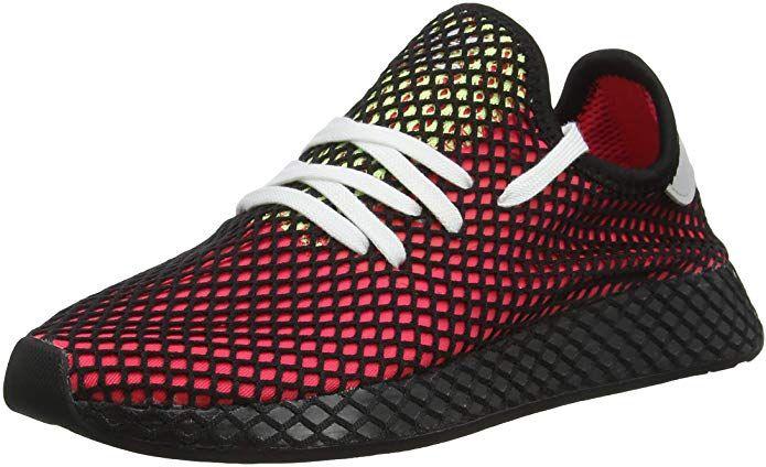 Adidas Deerupt Runner Sneakers Fitnessschuhe Damen Herren Unisex Rot Schwarz Gelb Grosse 37 1 3 Bis 48 Fitnessschuhe Damen Fitness Schuhe Rot Schwarz