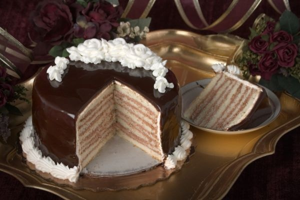 New Orleans Chocolate Doberge Cake Recipe