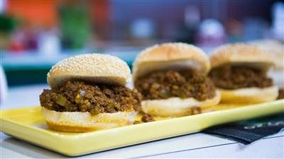 Keep the flavor and cut the fat with these hearty beef Sloppy Joes