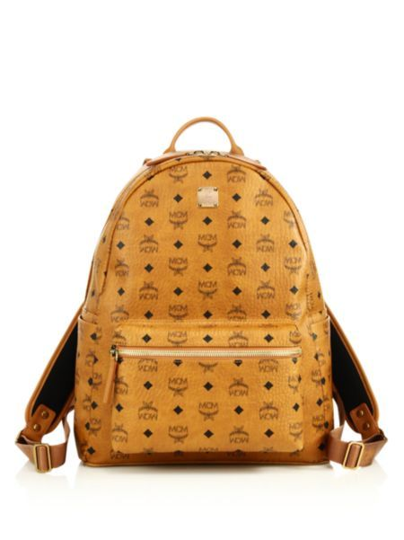 MCM - Stark Coated Canvas Monogram Backpack
