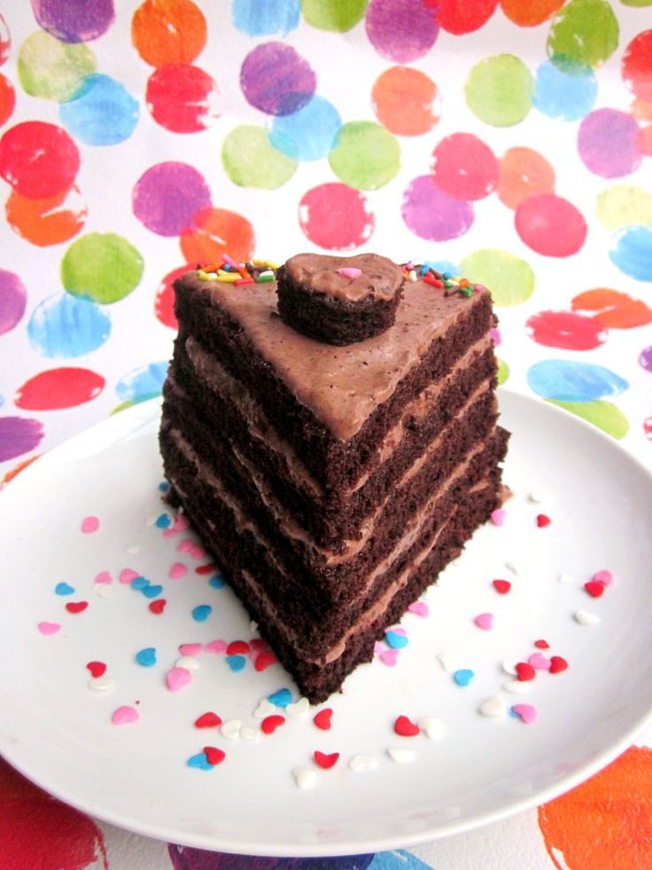 How to make the perfect SINGLE SLICE of layer cake