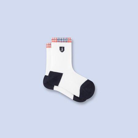 Chaussettes blanches pour bébé, garçon