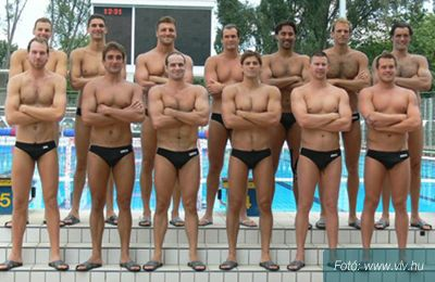 Hungarian National Waterpolo team = men