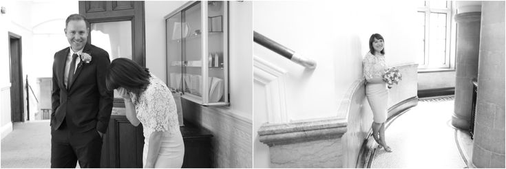 natural alternative elopement wedding photography, Ealing town hall, relaxed informal portraits