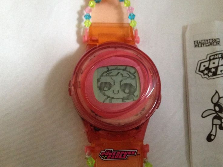 Powerpuff Girls Animated Talking C Watch Blossom By