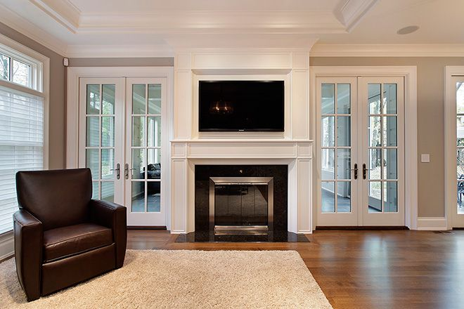 Smart builders fine homes renovations additions for New construction fireplace