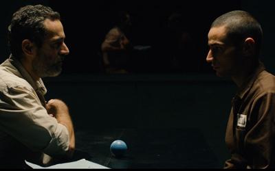 "Waleed Zuaiter, left, and Adam Bakri in ""Omar"""