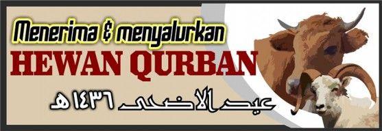 07 - Banner Spanduk Hari Raya Qurban Iedul Adha 1436 H 2015m