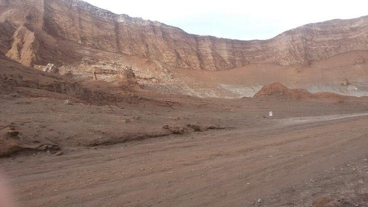 Anfiteatro -  Valle de la Luna,  San Pedro de Atacama, II región de Chile