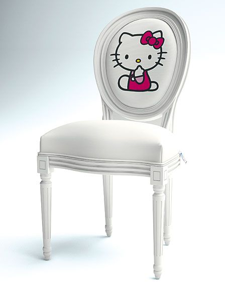 Silla Hello Kitty - Chair Hello KittyChairs Para, Desks Chairs, Sillas Hello, Kitty Chairs, Dining Chairs, Art Sillas, Chairs Hello, Hello Kitty, Kitty Hellokittystore Biz
