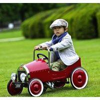Red Baghera Classic Steel Pedal Car