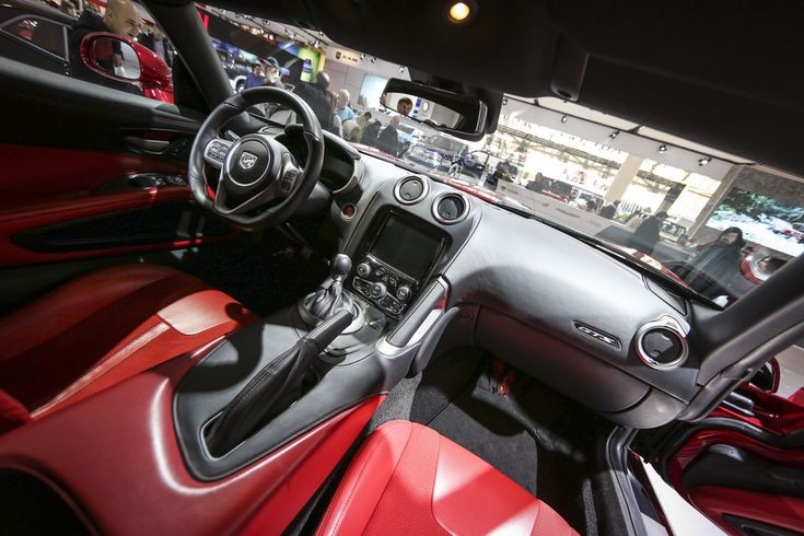 Interior of the 2013 SRT #Viper GTS  #CIAS