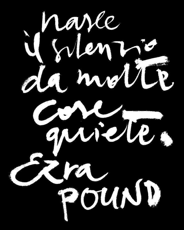 #marcocampedelli #handrwriting #brush #ezrapound