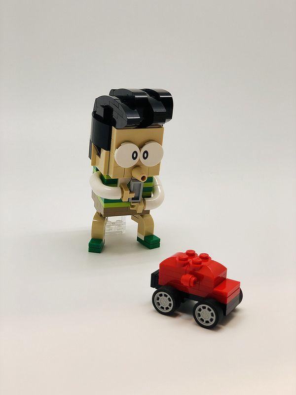 哆啦a夢 ドラえもん doraemon doraemon toy car lego brick
