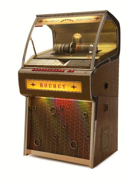 [ Overview ] Crosley has done it again. This beautiful full-size jukebox is built to commercial standards (including a coin changer!) and is quite simply, the f