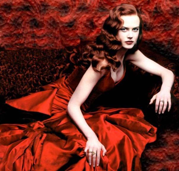 Nicole Kidman in 'Moulin Rouge'. I wanted to wear this dress for me senior prom.