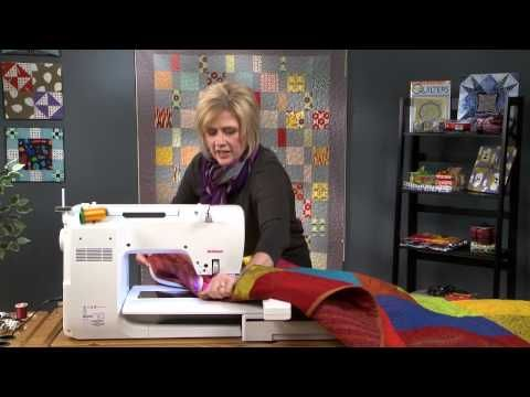 Quilting with an Embroidery Machine, Part 2 - YouTube
