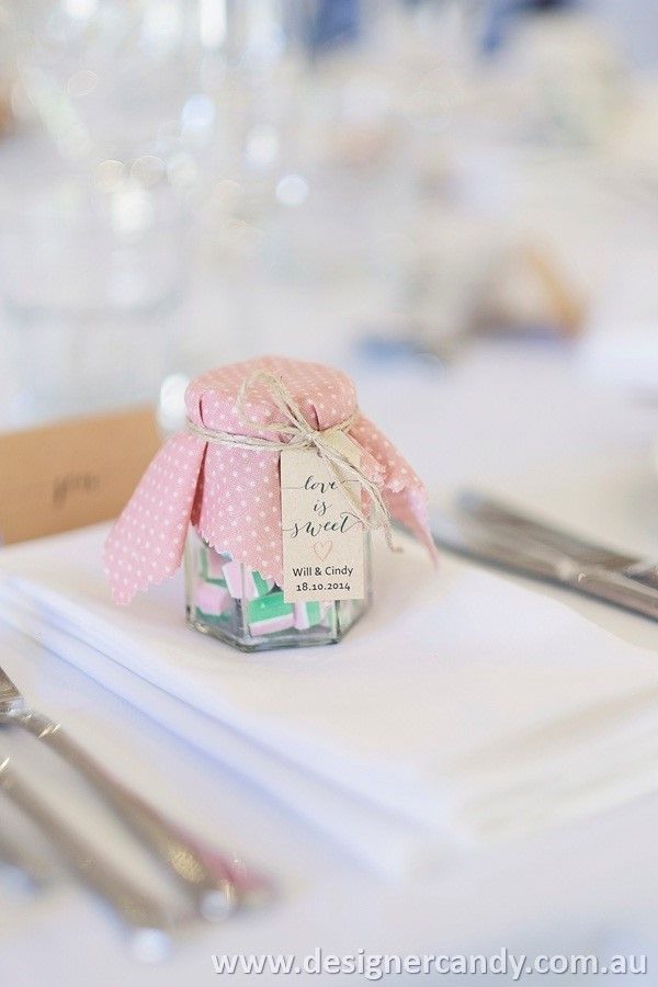 Thank you to Cindy for sending in these adorable photos of your Wedding Candy Jars. The vintage styling is super cute!! We wish you and Will a lifetime of happiness :) #designercandy #rockcandy #wedding #weddingcandy #weddingfavours
