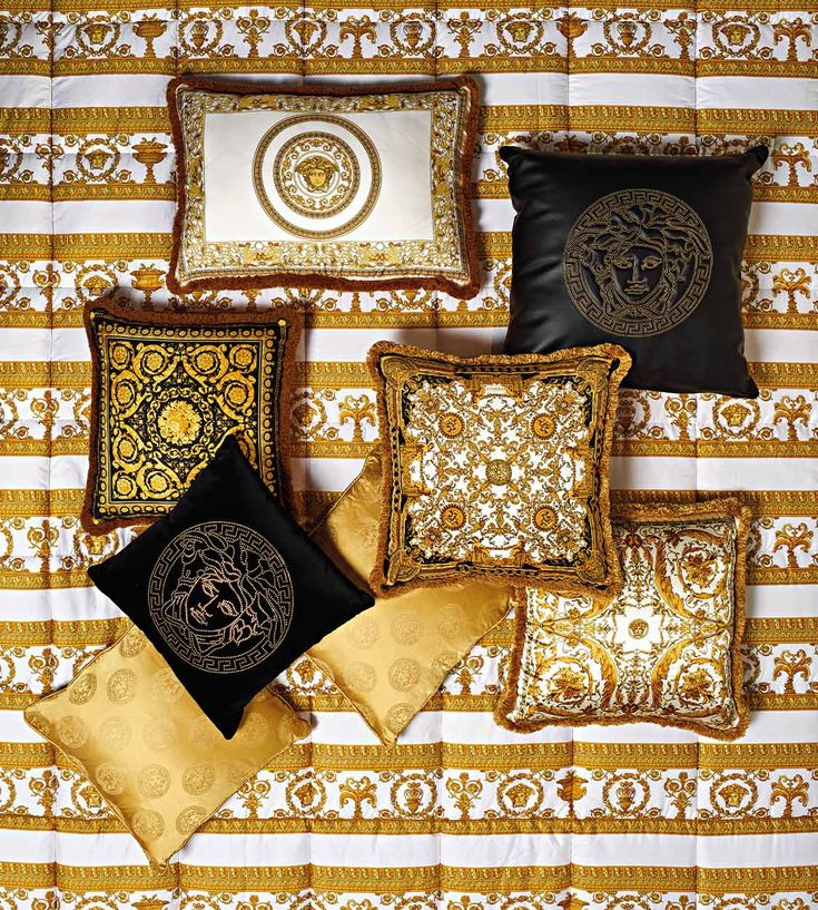 Versace Bettwäsche Discover The Luxury Barocco Pattern Collection. Discover