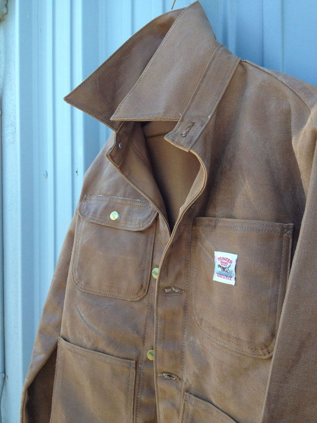 Mens Waxed Jacket