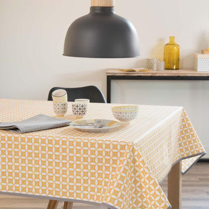 maison du monde nappe de table interesting nappe carte du. Black Bedroom Furniture Sets. Home Design Ideas