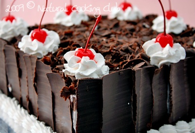 Black Forest resep Natural Cooking Club