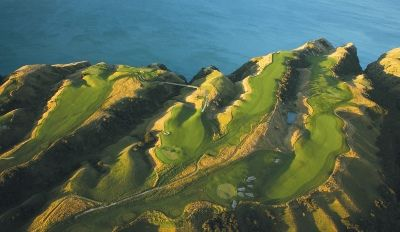 Spectacular golf course at Cape Kidnappers