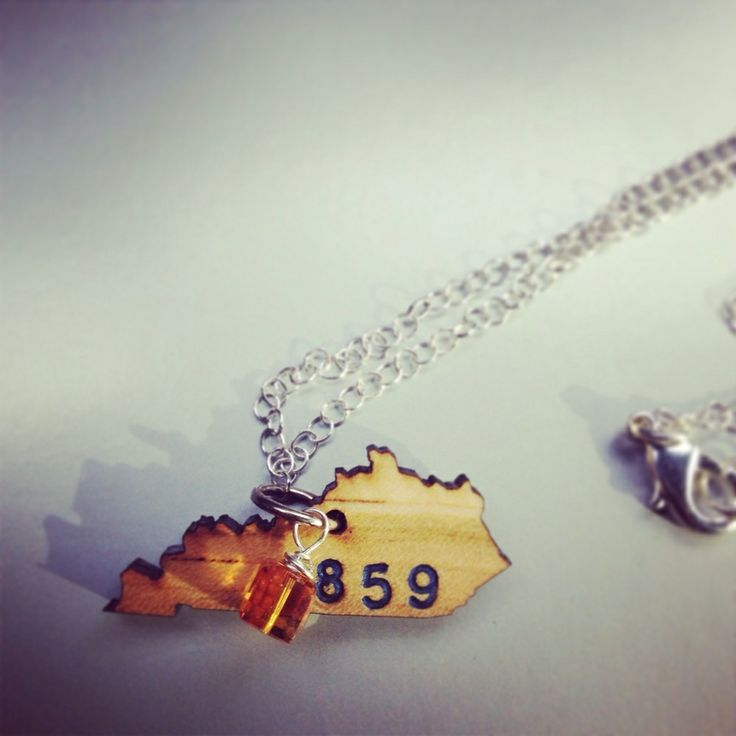 Any state you want, custom stamped with anything you like! Area codes, initials, hearts! Available at RayBandz.bigcartel.com!!