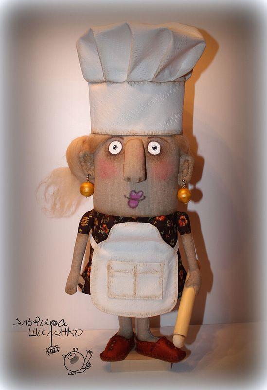 кукла повар