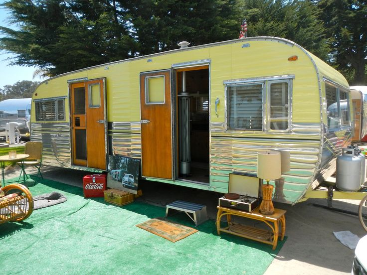 1954 Terry Camping Trailer | Pismo Beach Vintage Trailer Ral… | Flickr