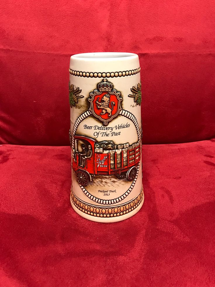 Stroh's Fire-Brewed Beer Stein Heritage Series V #50541 by PawnProsOnline on Etsy https://www.etsy.com/listing/541392989/strohs-fire-brewed-beer-stein-heritage