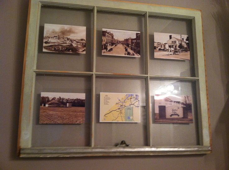 old window pane...pictures of our city