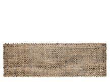 Riya, tapis de couloir tissé en jute 66 x 200 cm, naturel
