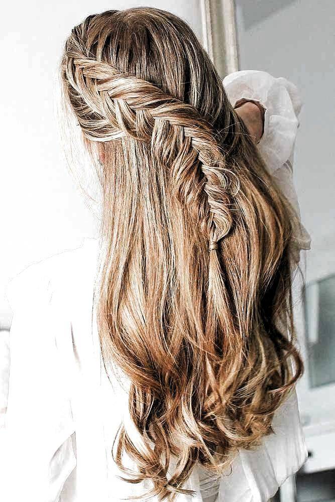 Hairstyle For Long Thick Hair Everyday In 2020 Hair Styles Thick Hair Styles Long Hair Styles