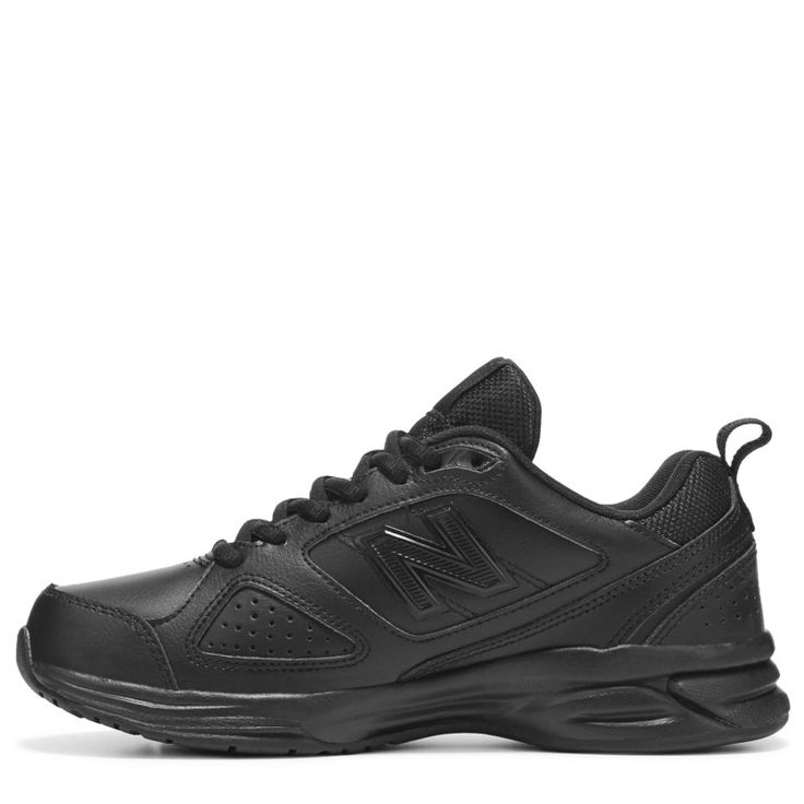 New Balance Women's 623 V3 Medium/Wide/X-Wide Sneakers (Black Leather) - 11.0 2E