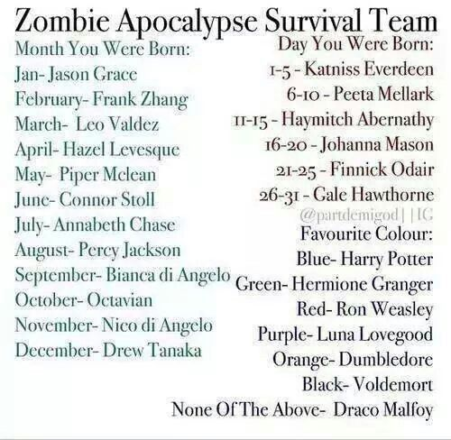 Jason Grace, Johanna Mason, and Harry Potter:) Life is good  Frank Zhang, Haymitch Abernathy (I think that's how you spell it) and Harry Potter