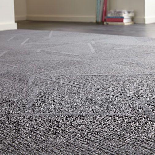 City Proper EC1, Carpet Tile, Angular Pattern   Milliken
