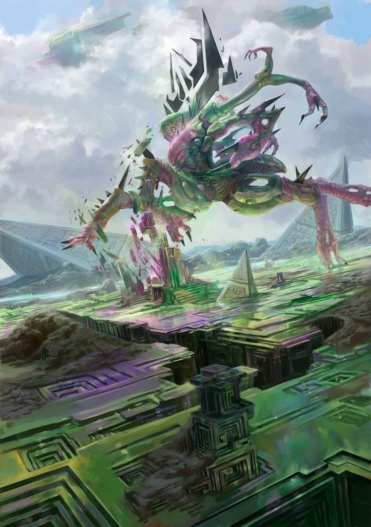 Reality Smasher - MtG Art Oath of the Gatewatch