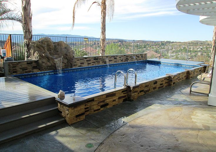 Another Islander Above Ground Pool Decor Pinterest Ground Pools Backyard And House