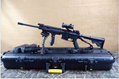 "TacOpShop is a family-owned, home-based FFL specializing in ""loaded"" tactical rifles, shotguns and pistols. This lightweight optics-ready carbine features a mil-std a3 upper receiver, lightweight barrel and pardus stock for user comfort and advanced capability. AR 15 tactical rifle for sale light weight, yet full-featured with dust cover and forward assist. The flat-top gas block offers a wide variety of site mounting options, including no optics."