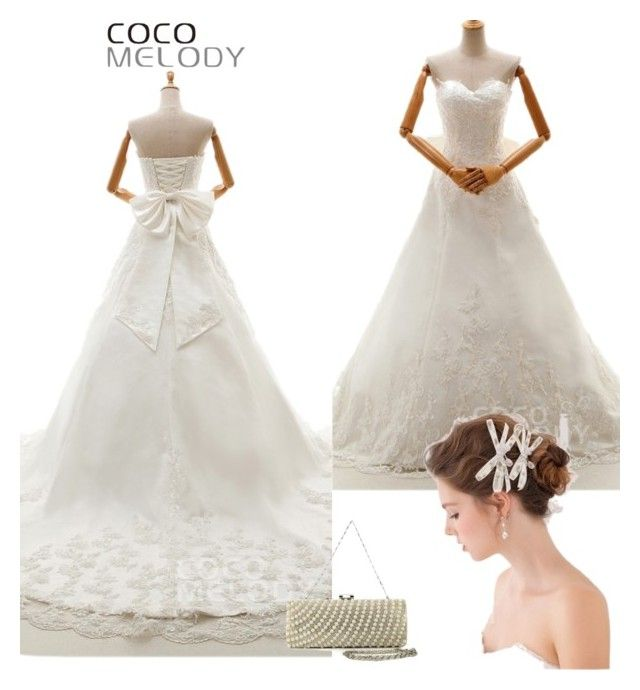 """""""CocoMelody wedding dresses No.21"""" by cocomelodydress ❤ liked on Polyvore"""
