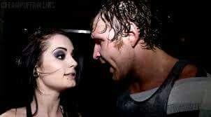 Dean Ambrose & Paige