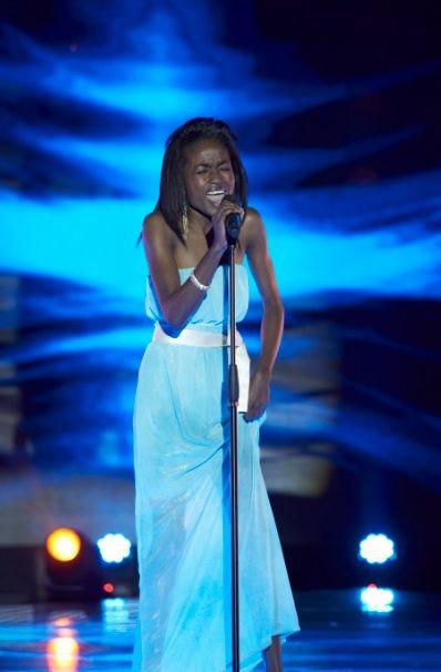 Ella es Jessica Agualimpia, la mujer que cantó con el alma.