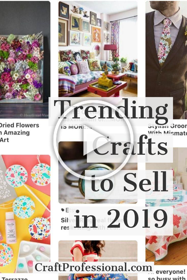 Craft Trends For 2019 To Help You Design On Trend Handmade