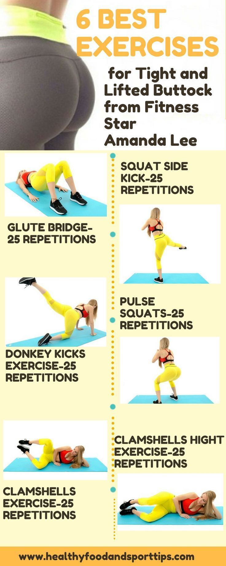 6 Best Exercises For Tight And Lifted Butt From Fitness ...
