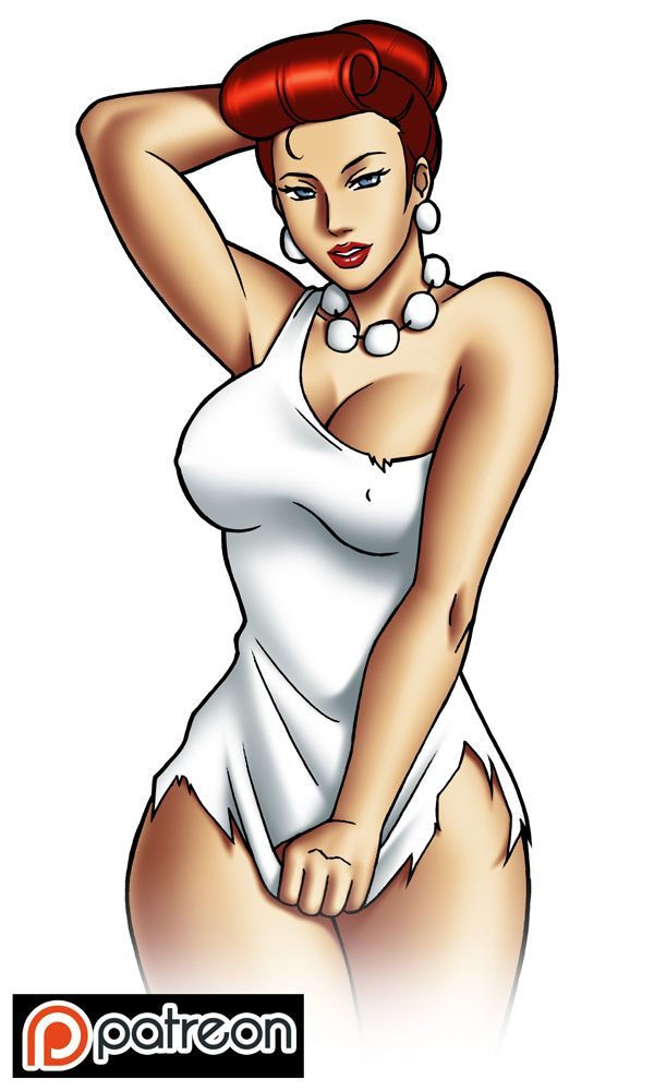Sexy cartoon female characters