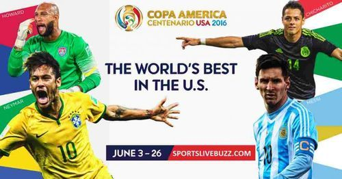 Get Copa America 2016 fixture latest list