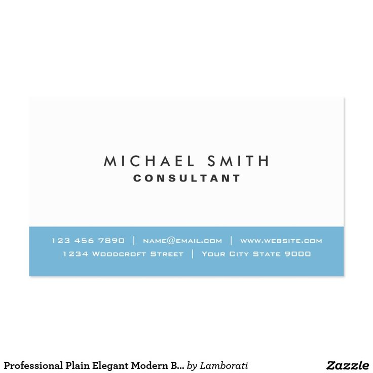 29 best Business Cards: Blue images on Pinterest | Visit cards ...