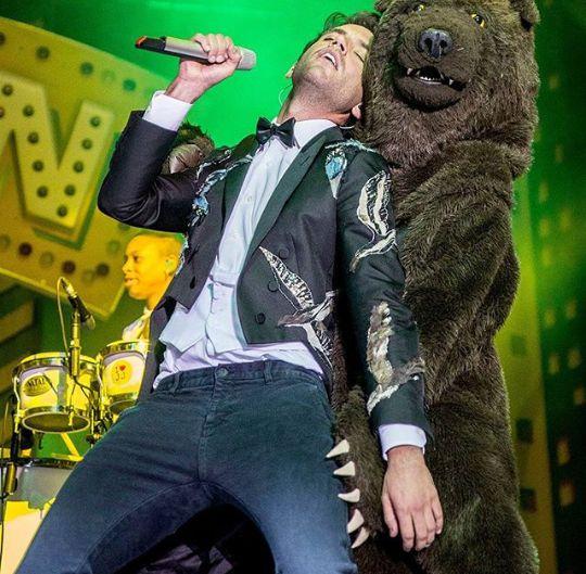 Lucky bear though